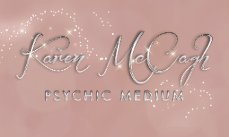 Psychic Medium Karen McCagh Company Logo by karen mccagh in Carnoustie Scotland