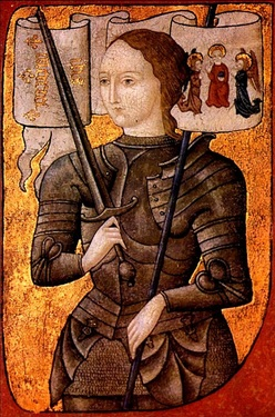 Joan of Arc as a medium.